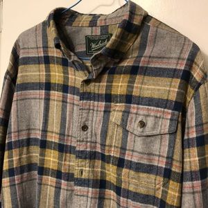 Woolrich Plaid Flannel Shirt